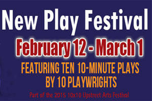 10X10 New Play Festival