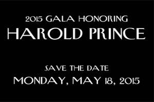 2015 Symphony Space Gala Honoring Harold Prince