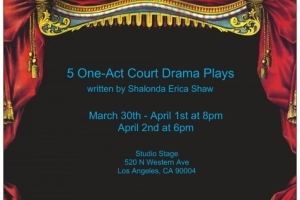 5 One-Act Court Drama Plays