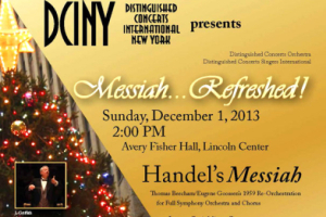 50% off Messiah…Refreshed! at Avery Fisher Hall, Lincoln Center