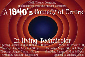 A 1940's Comedy of Errors