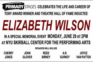 A Celebration of Elizabeth Wilson