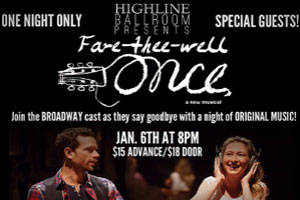 A Goodbye Concert for Broadway's Once