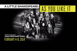 A Little Shakespeare: As You Like It