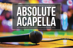 Absolute Acapella at the Gershwin: Fiveborough