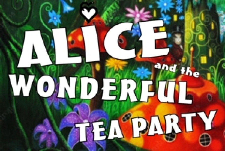 All-Male Alice and the Wonderful Tea Party