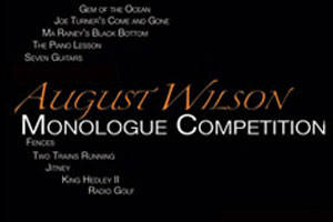 August Wilson Monologue Competition 2015