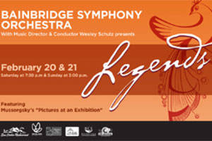 Bainbridge Symphony Orchestra Presents - Legends