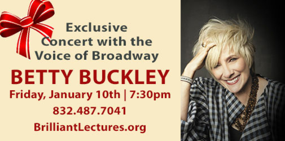 BETTY BUCKLEY ONE NIGHT ONLY