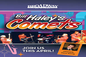 Bill Haley's Comets Opening Act: Comedian Dave Konig