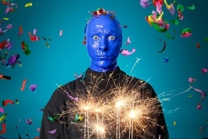 Blue Man Group Chicago 20th Birthday Performance