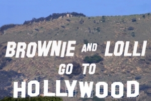 Brownie and Lolli Go To Hollywood