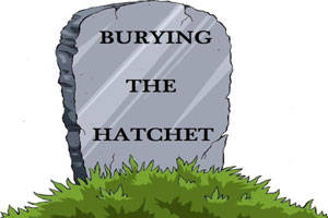 Burying The Hatchet