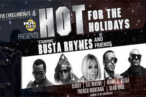 Busta Rhymes & Friends Hot for the Holidays