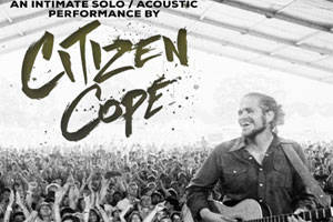 Citizen Cope with Special Guest Alice Smith