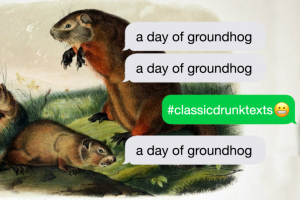 Drunk Restoration Comedy: A Day of Groundhog