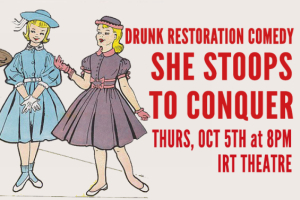 Drunk Restoration Comedy - She Stoops to Conquer