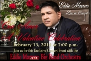 Eddie Marrero, Con Amor, A Valentine Celebration