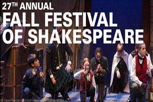 Fall Festival of Shakespeare