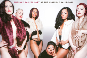 Filthy Gorgeous Burlesque  Valentine's Spectacular!