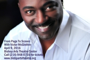 From Page to Screen with Victor McGlothin