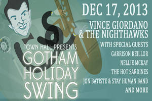 Gotham Holiday Swing: Vince Giordano & The Nighthawks