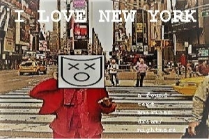 I Love New York: A Found Text American Dream/Nightmare