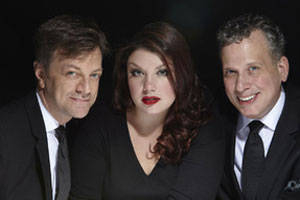 Jane Monheit, Jim Caruso and Billy Stritch in Hollywoodland: Songs From The Silver Screen