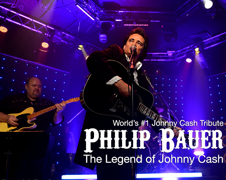 Johnny Cash Tribute Starring Philip Bauer