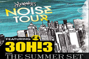 Journey's Noise Tour Featuring 3OH!3 with Special Guests: The Summer Set, Wallpaper & NeW bEAt FUNd