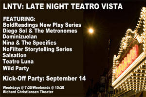 Late Night Teatro Vista