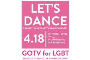 Let's Dance: GOTV For LGBT