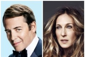 Matthew Broderick and Sarah Jessica Parker in Broadway @ Town Hall