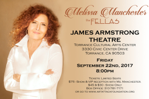 Melissa Manchester: <i>The Fellas</i> Gala and CD Release Party