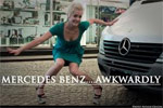 Mercedes Benz Awkwardly
