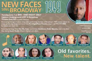 New Faces Sing Broadway