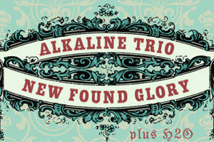 New Found Glory & Alkaline Trio with Special Guest - H2O