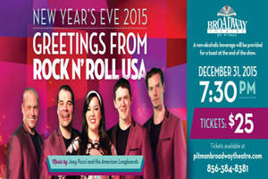 New Year's Eve Greetings from Rock And Roll USA