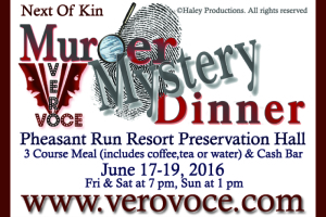 Next of Kin Murder Mystery Dinner
