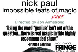 Nick Paul: Impossible Feats of Fake Magic