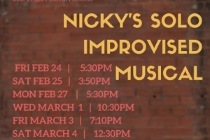Nicky's Solo Improvised Musical