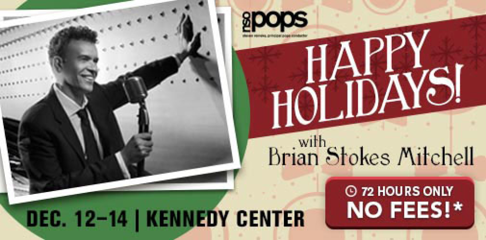 NSO Pops: Happy Holidays! with Brian Stokes Mitchell