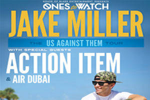 Ones to Watch Presents Jake Miller - The Us Against Them Tour