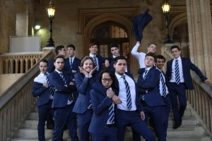 Out Of The Blue: Oxford's All-Male A Cappella Sensation