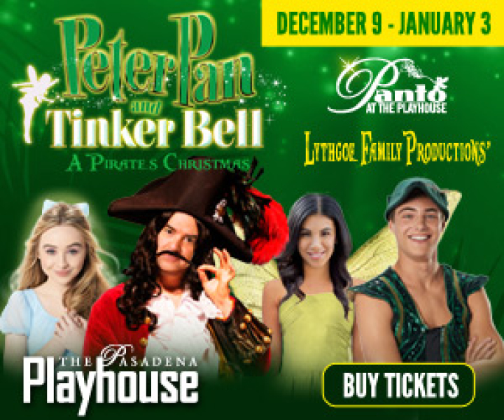 Peter Pan and Tinker Bell - A Pirates Christmas