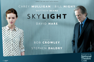 Screening of the National Theatre Live: Skylight
