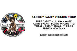Sean 'Diddy' Combs AKA Puff Daddy: Bad Boy Family Reunion Tour
