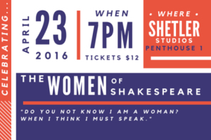 Shakesday: The Women of Shakespeare
