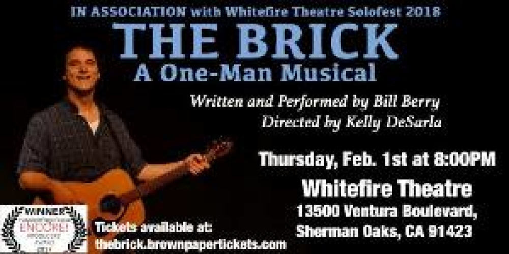 Solofest 2018 - The Brick: A One-Man Musical