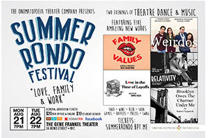"Summer Rondo Festival: ""Love, Family & Work"""